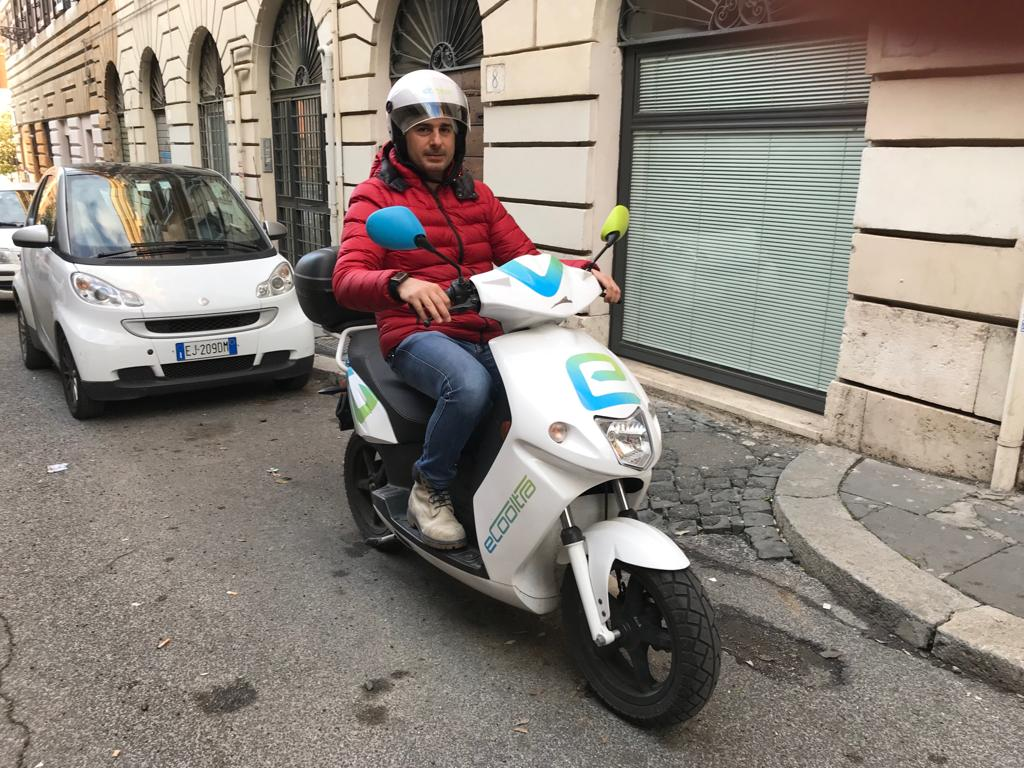 Prova dello Scooter Sharing eCooltra