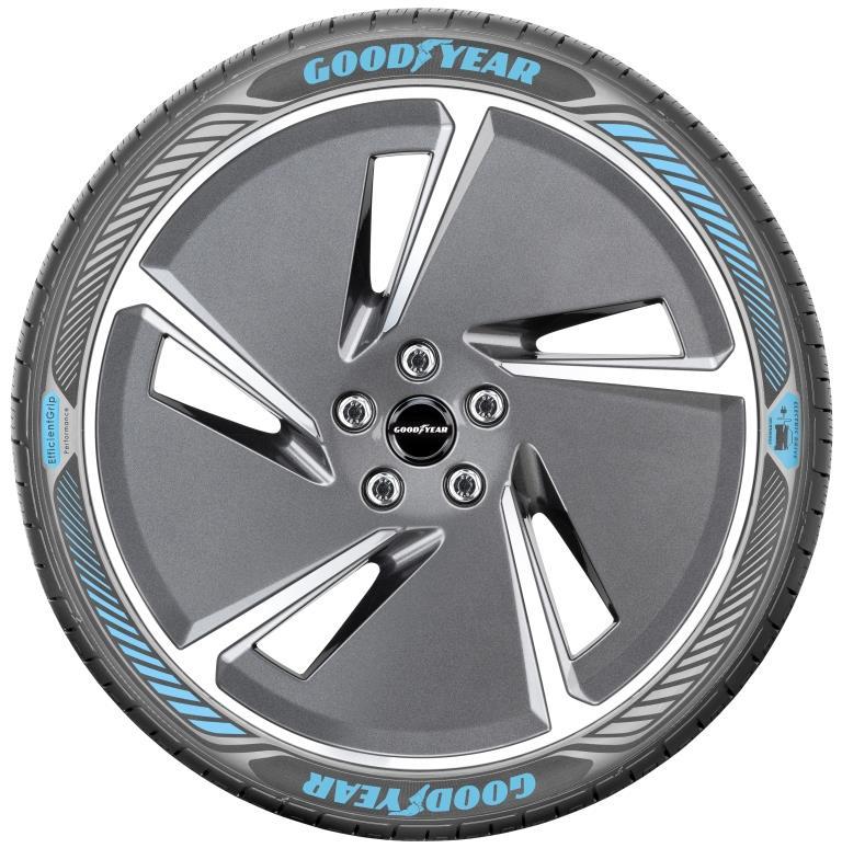 Nuovo pneumatico Goodyear per auto elettriche