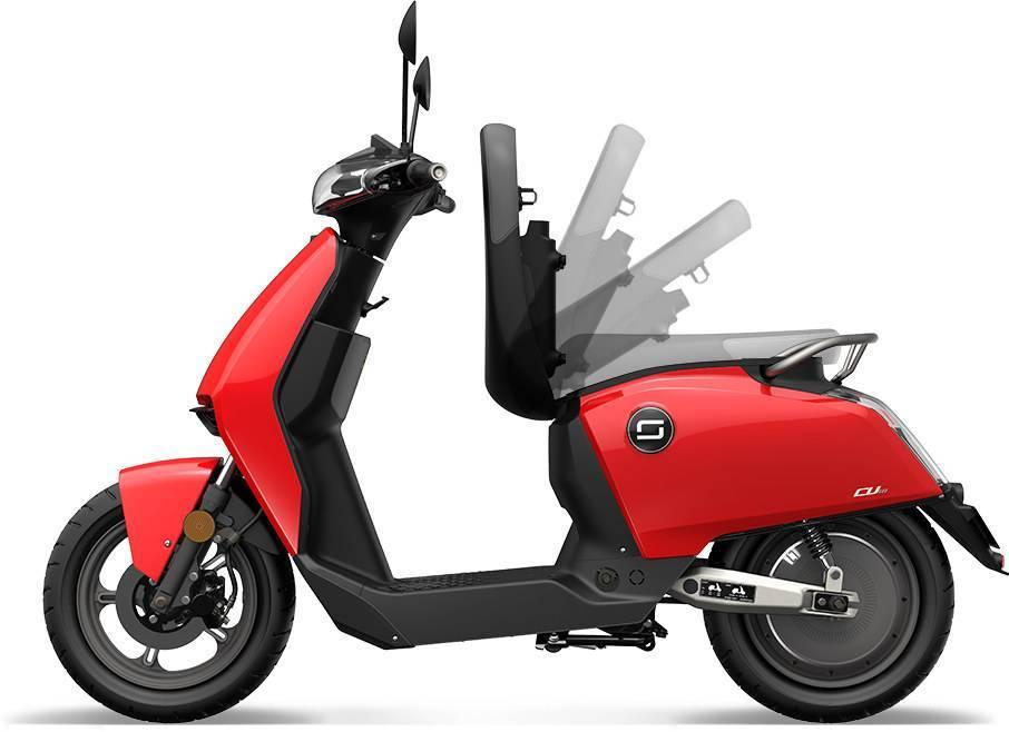 Ducati, presenta uno scooter elettrico: un super SOCO rimarchiato.