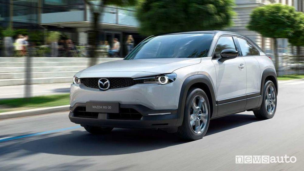 MX-30: la prima elettrica di Mazda in anteprima al Salone di Tokyo