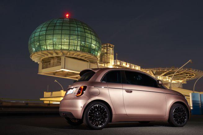 Nuova Fiat 500 elettrica3+1