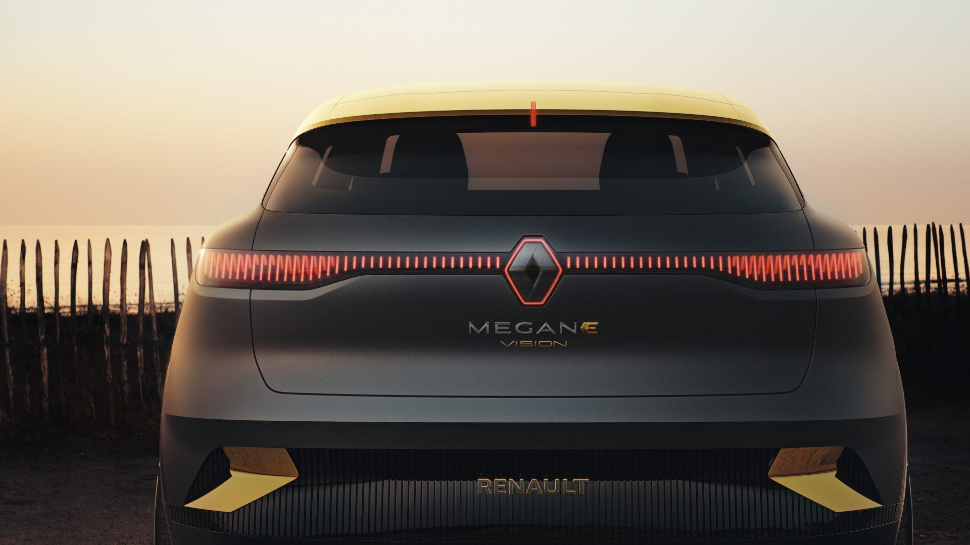 Nuova Megane eVision:il futuro elettricosecondo Renault