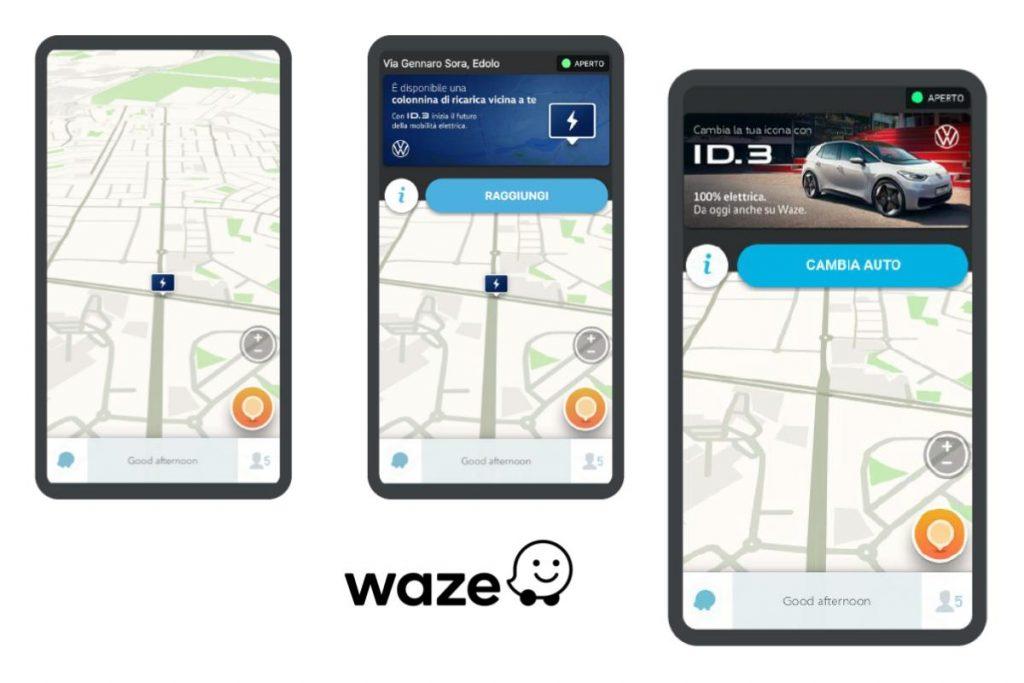Waze insieme con Volkswagen per la mobilità elettrica