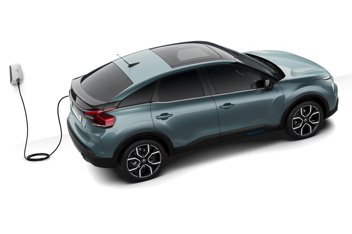 Nuova ë-C4 elettrica di casa Citroën