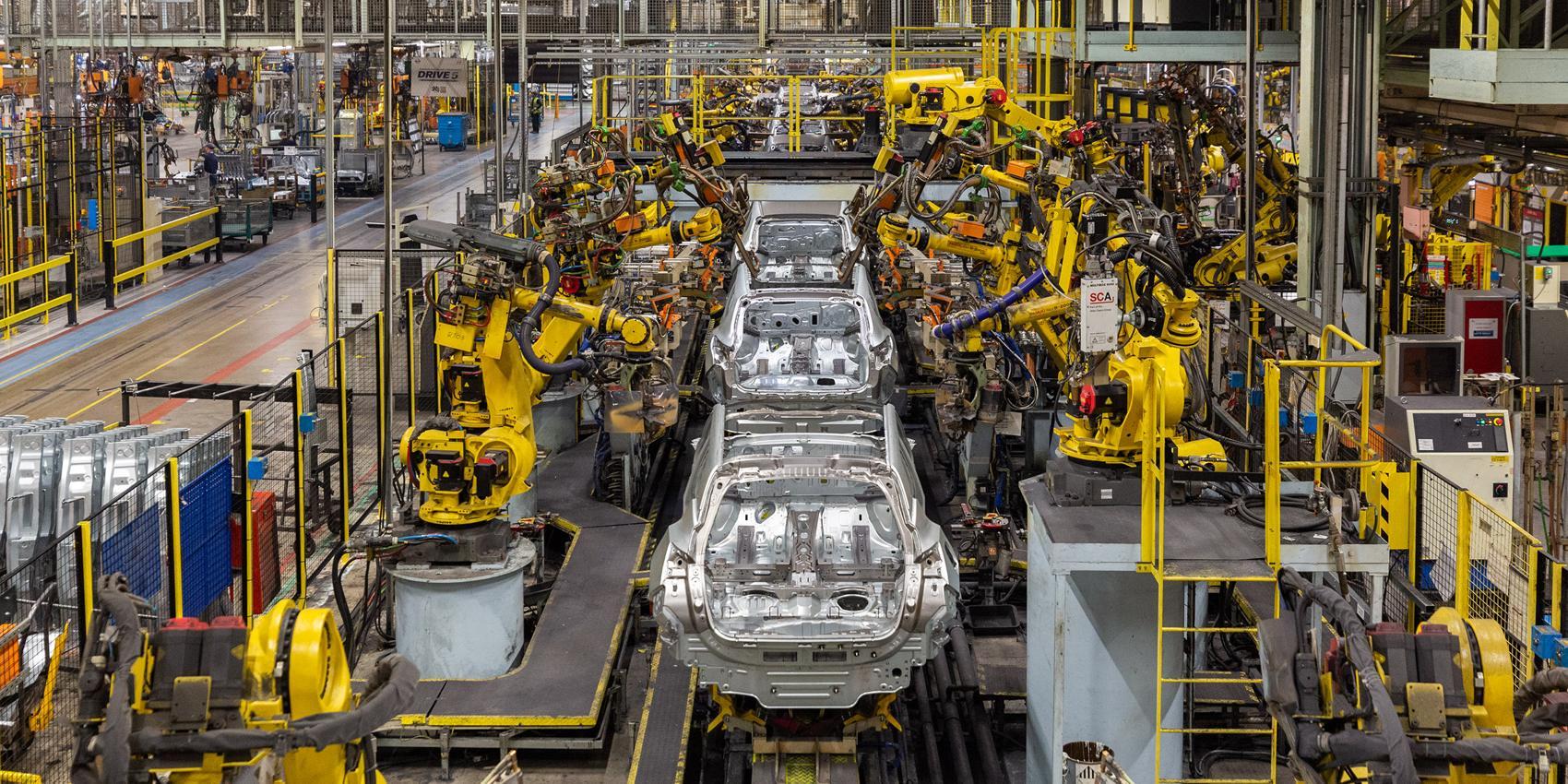 Nissan's car factory assistants